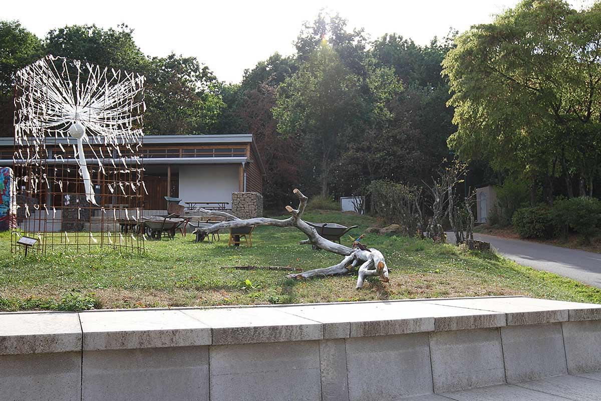 Bildhauerwiese an der Bosener Mühle