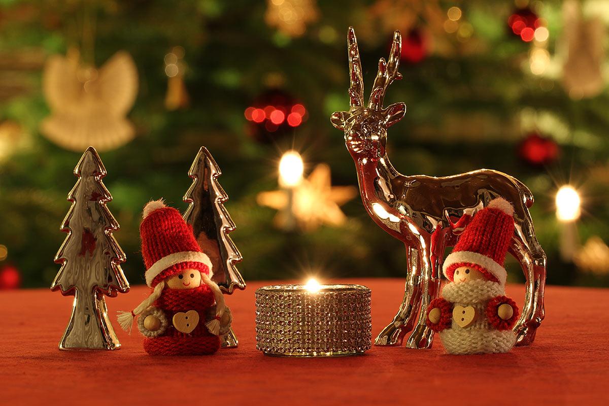 Weihnachtliche Dekoration 2018