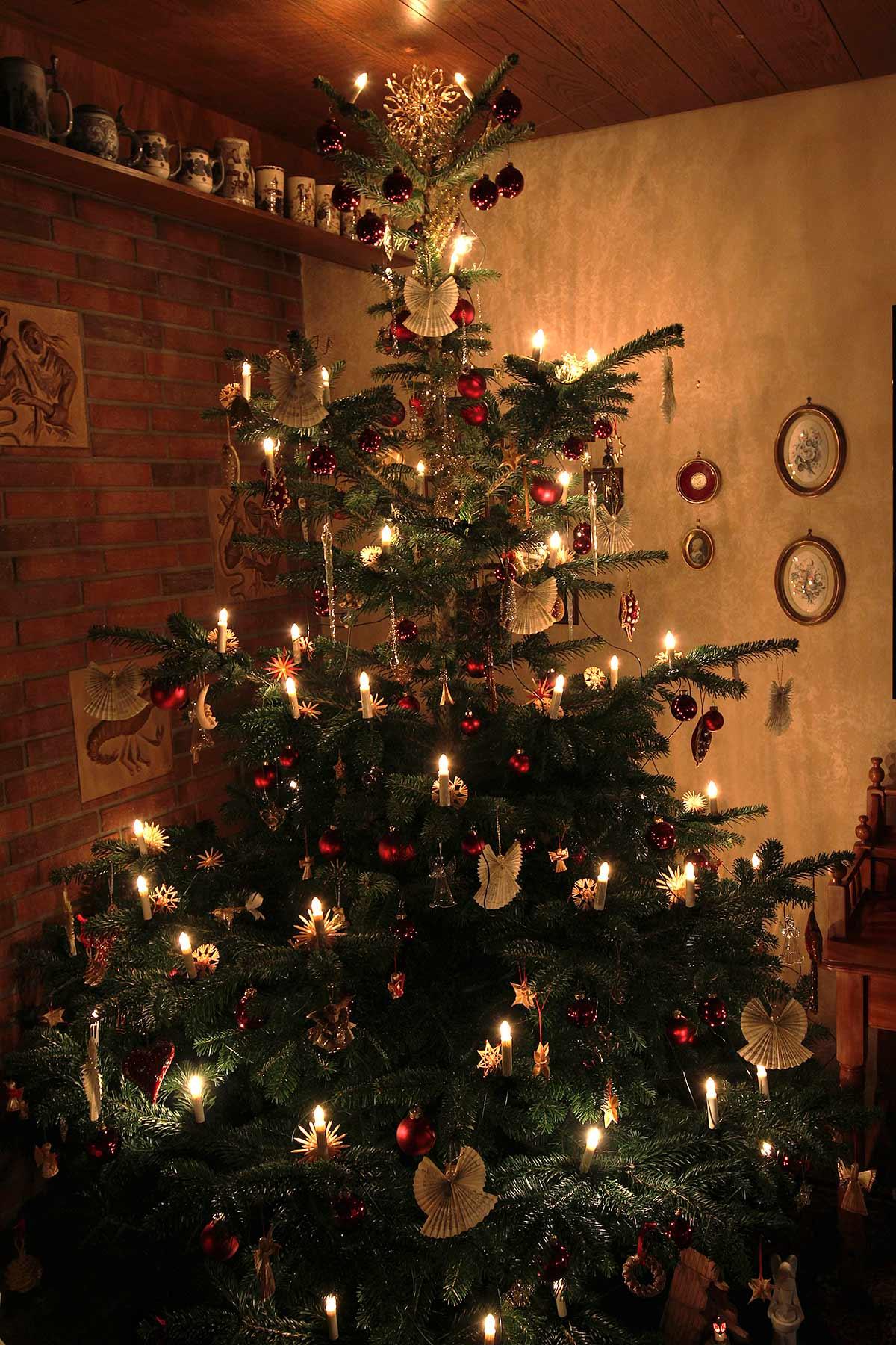 Unser Weihnachtsbaum 2017